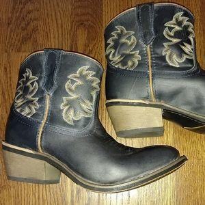 Laredo sapphyre leather boots